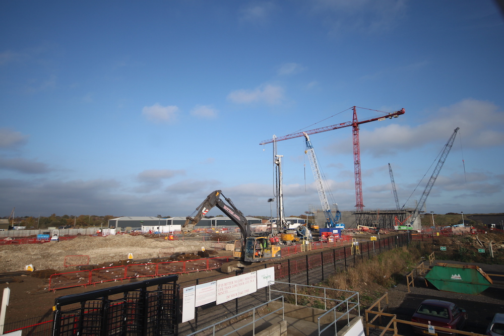 Beginning of works at the Lincolnshire Energy from Waste Facility