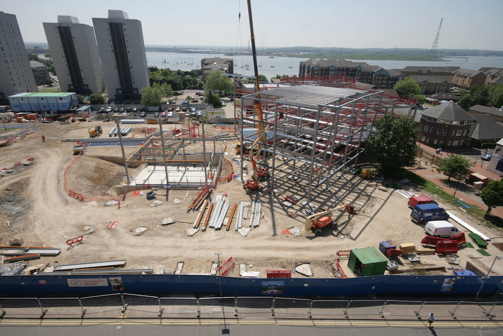 Construction of a new campus for higher education provider South Essex College