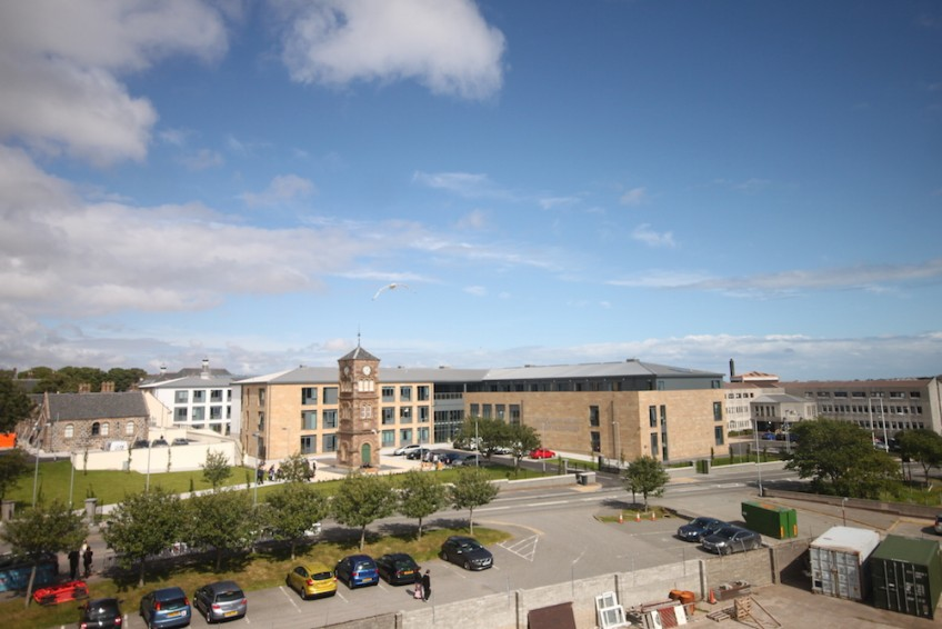 Time-lapse capture completed at the Nicolson Institute school, Stornoway