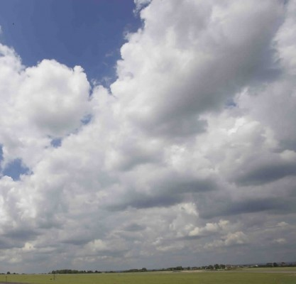 Cloudy skies can make great time-lapses