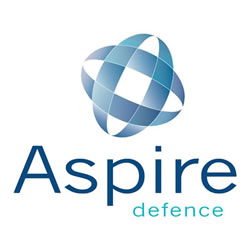 Aspire Defence logo