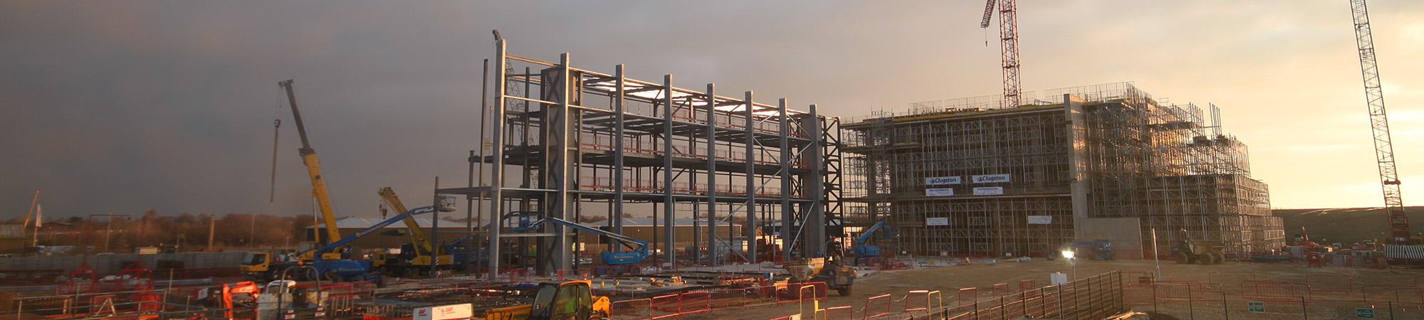 Lincolnshire EfW Facility under construction