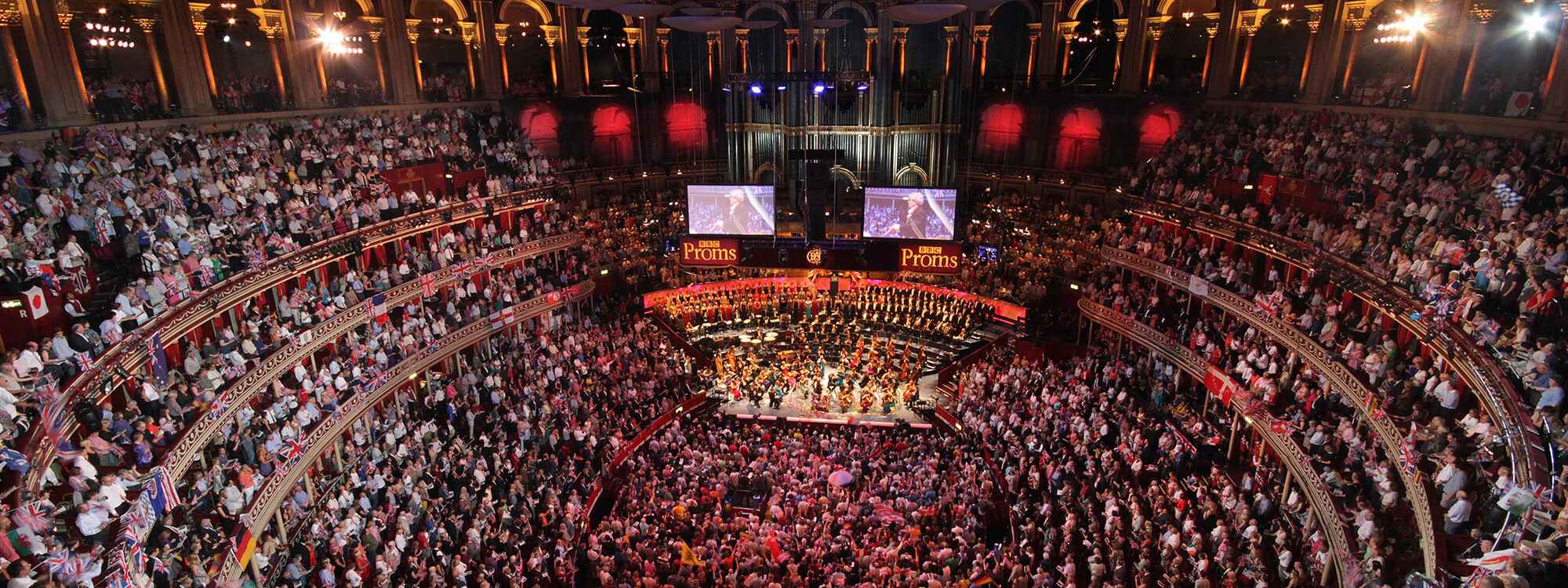 Royal Albert Hall feature banner