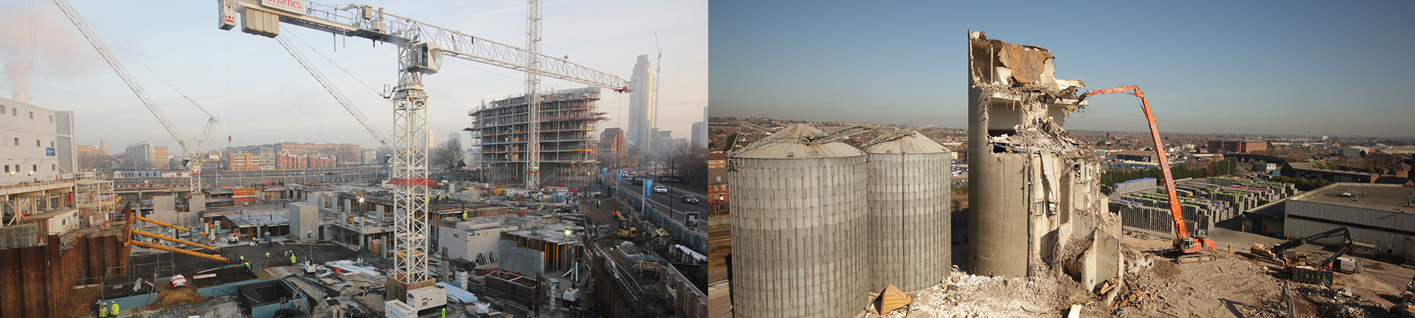 Construction and demolition projects