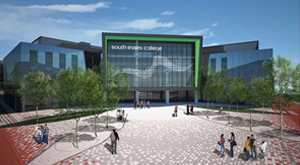 CGI of South Essex College Thurrock Campus