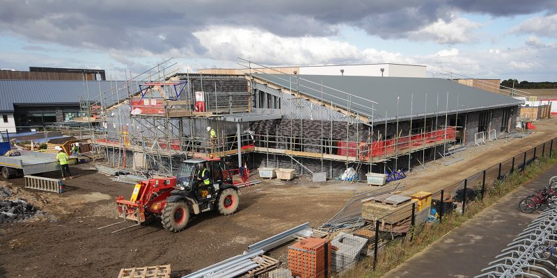 Cambourne Primary School construction