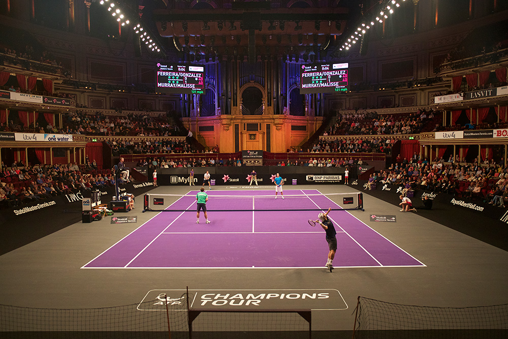 Champions Tour Masters Tennis at the Royal Albert Hall