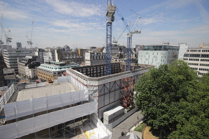 Constructing LSQLONDON in Leicester Square