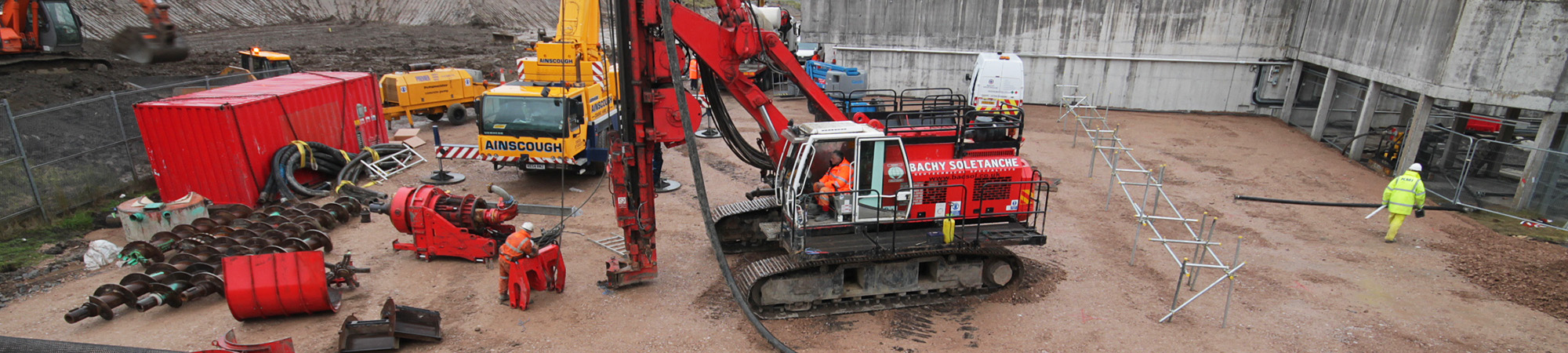 Lostock Water Treatment Works tank installations