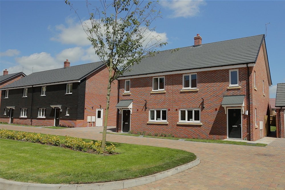 Lovell housing development at Beacon Barracks, Stafford