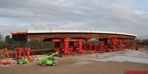 M56 Thorley Lane bridge replacement
