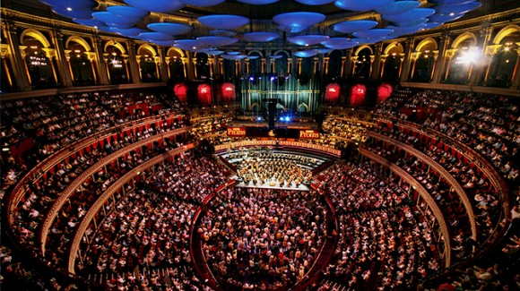 The Last Night of the Proms at the Royal Albert Hall