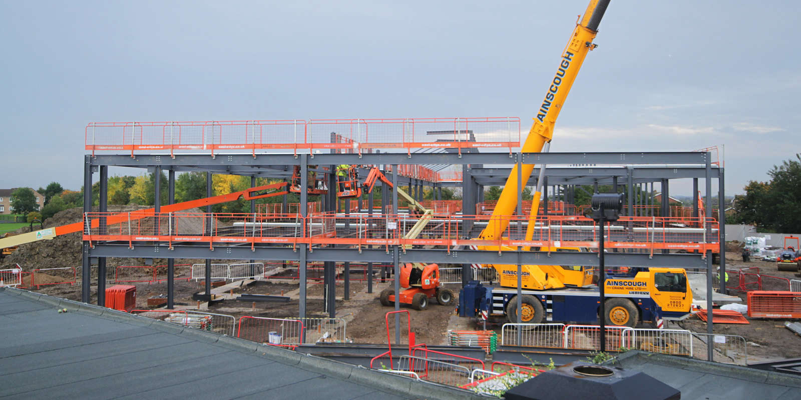 Thorndown Primary School construction