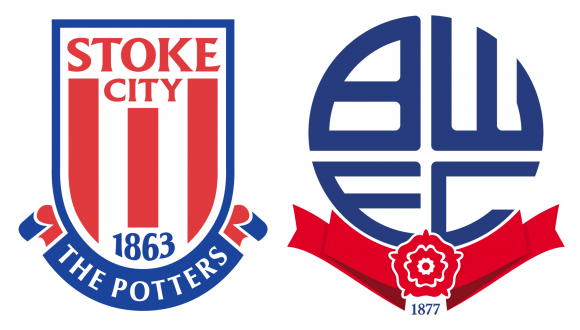 Stoke City FC and Bolton Wanderers FC logos