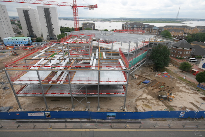 Thurrock campus under construction at South Essex College