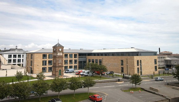 CGI artist's impression of the Nicolson Institute, Stornoway