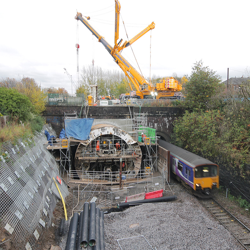 Farnworth Tunnel reconstruction