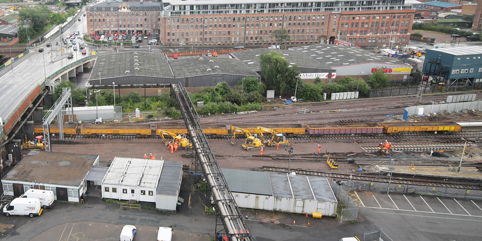 Nottingham Hub rail improvement works