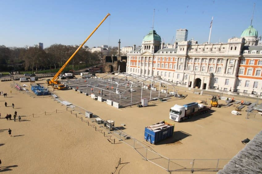 Historic Horse Guards Parade project