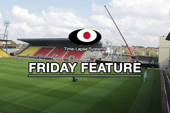 GL events Vicarage Road Friday Feature promotional image