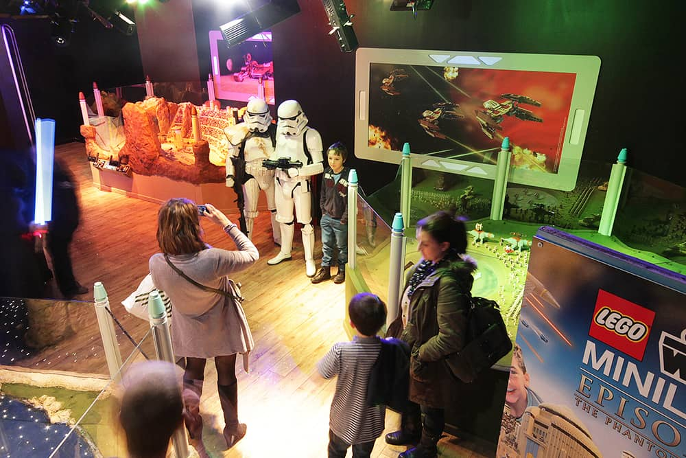 Lego Star Wars Miniland exhibit opens