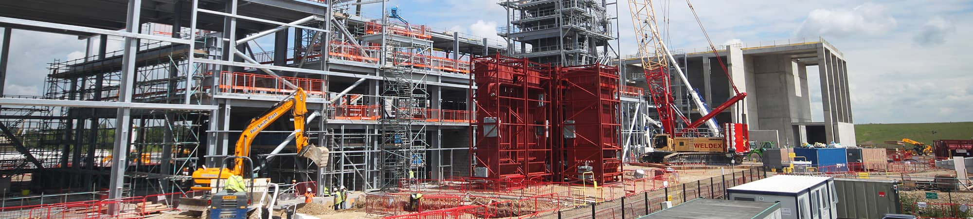 Construction of North Hykeham EfW Facility