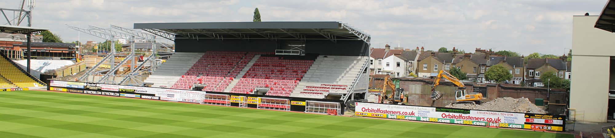 Vicarage Road East Stand redevelopment