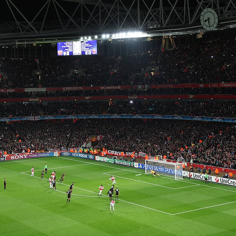 Champions League – Emirates Stadium