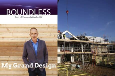 Images showing promotional pieces from the new Channel 4 Grand Design spin-off