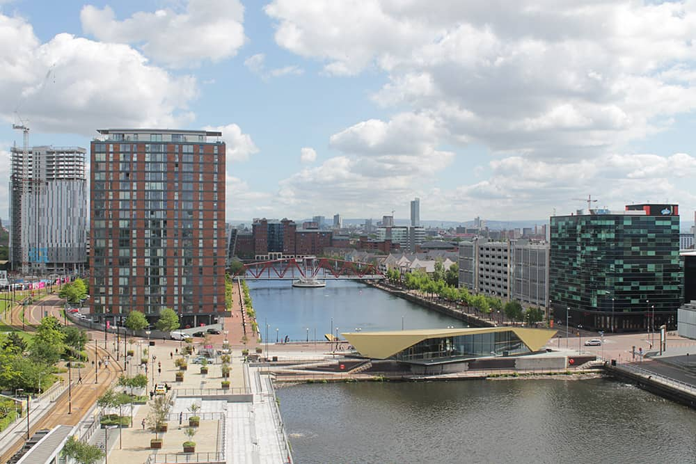 The newly completed The Alchemist venue in MediaCityUK