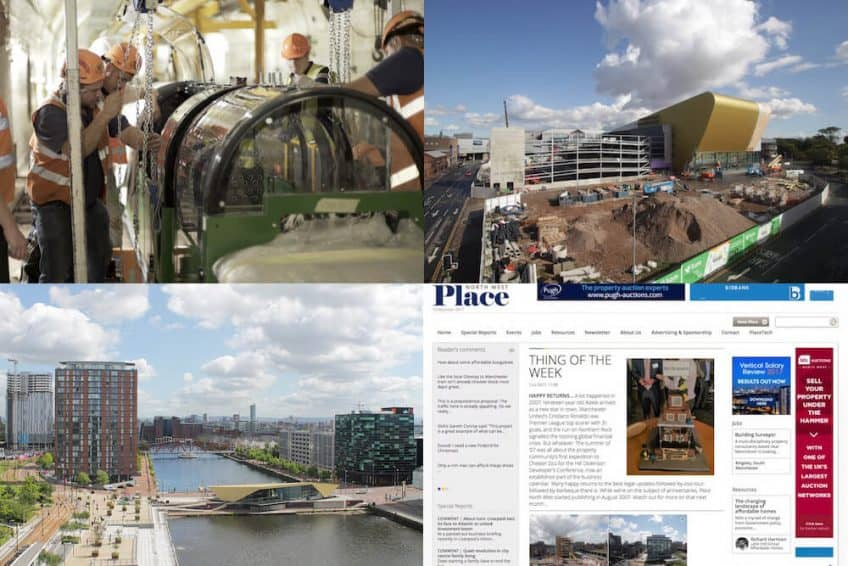 Time-Lapse Systems images from 2017, including the Postal Museum, Hull Venue, The Alchemist and Place North West