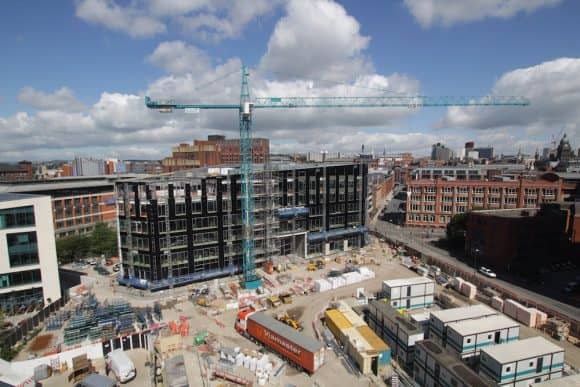 A construction time-lapse project in Leeds.