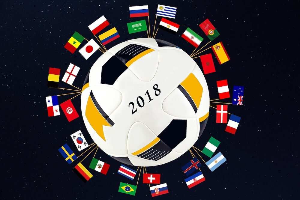 World Cup 2018 graphic.