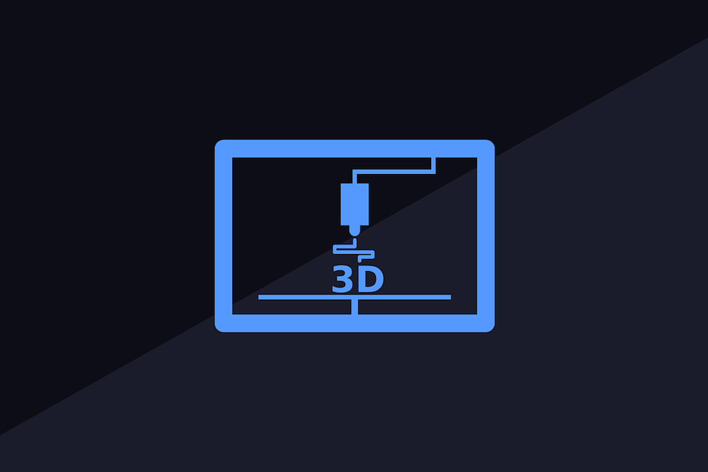 3D printing graphic.