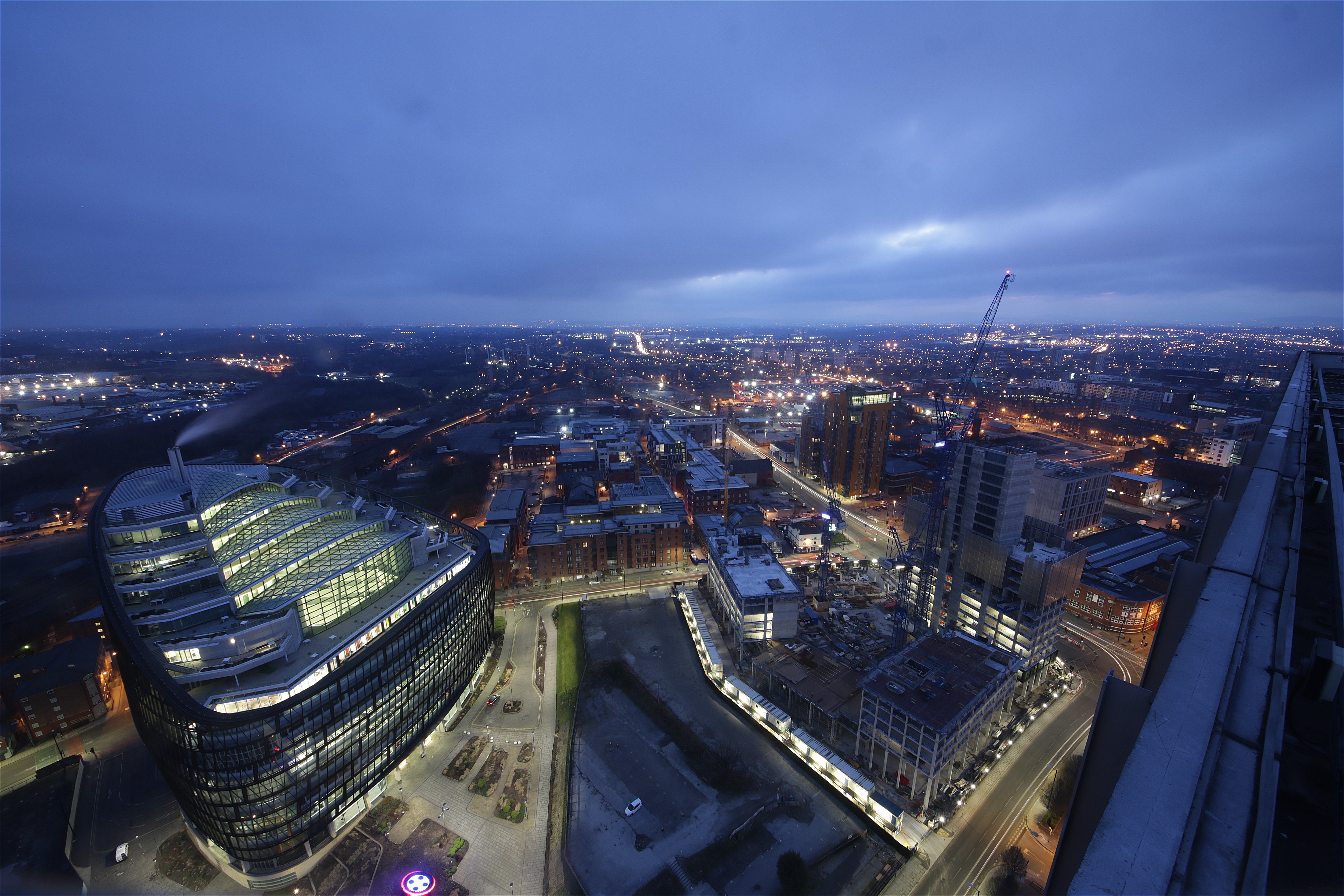 A Manchester time-lapse construction project.