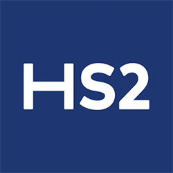 High Speed Rail Two - HS2 - logo