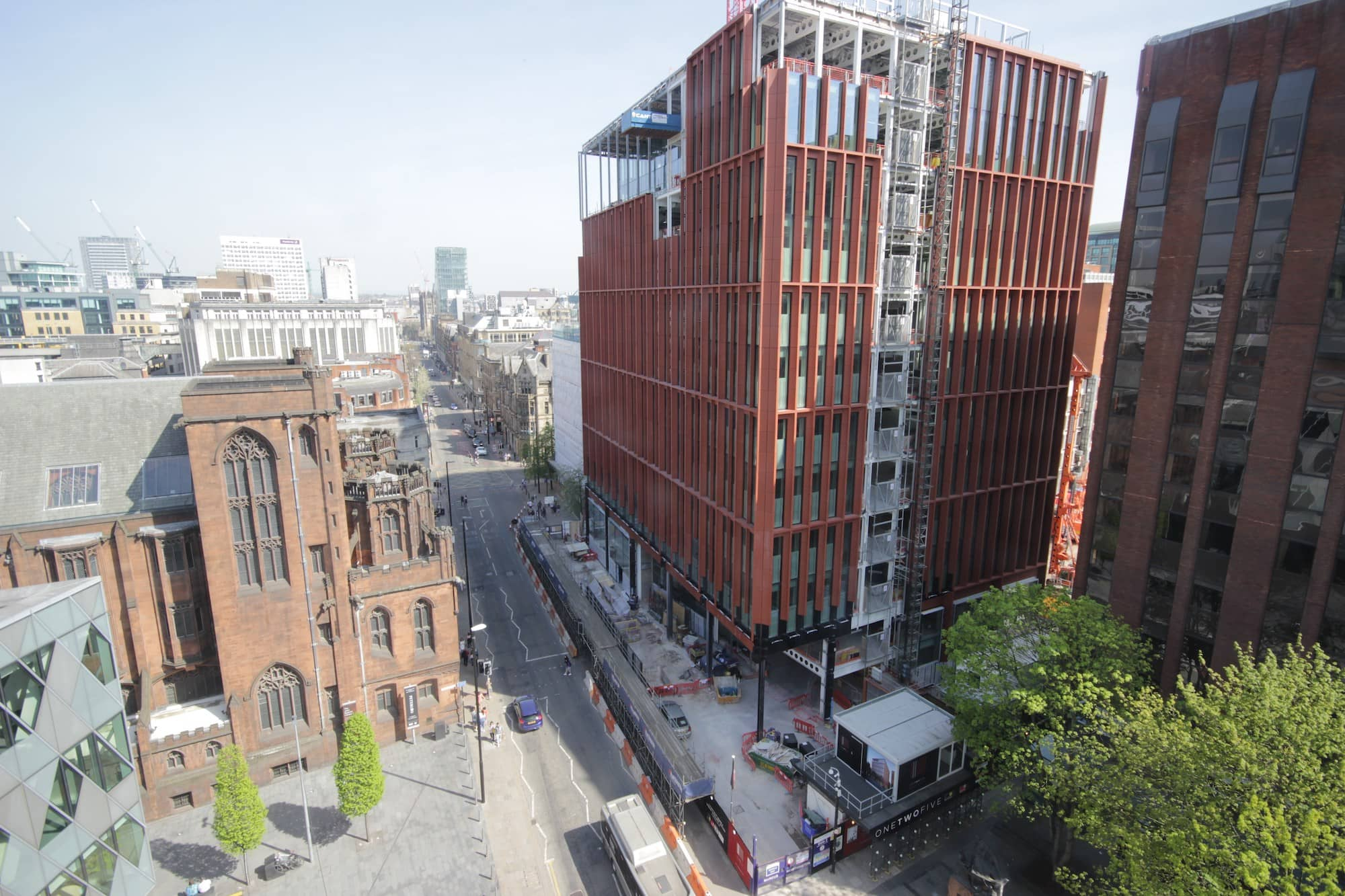 Construction of 125 Deansgate revealed through our time-lapse video