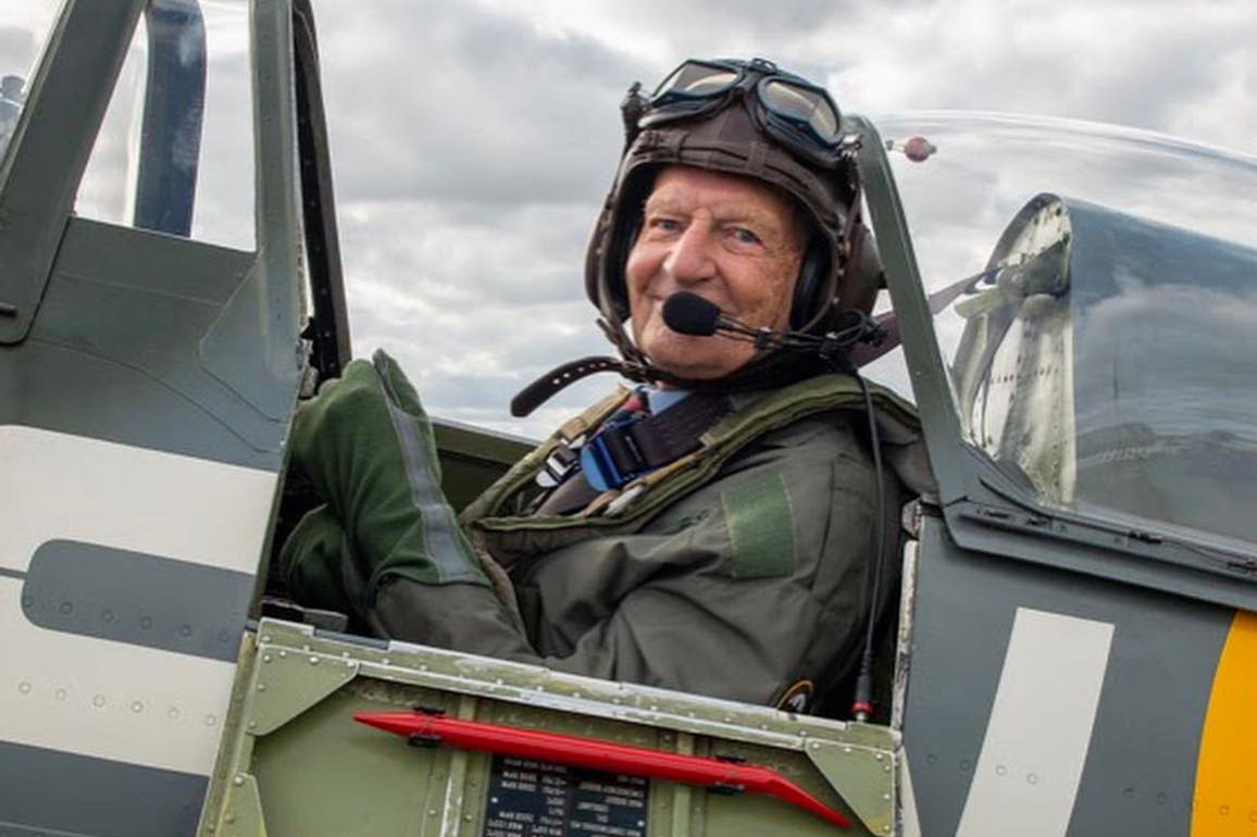 Capturing Hawker Typhoon veteran's dream flight