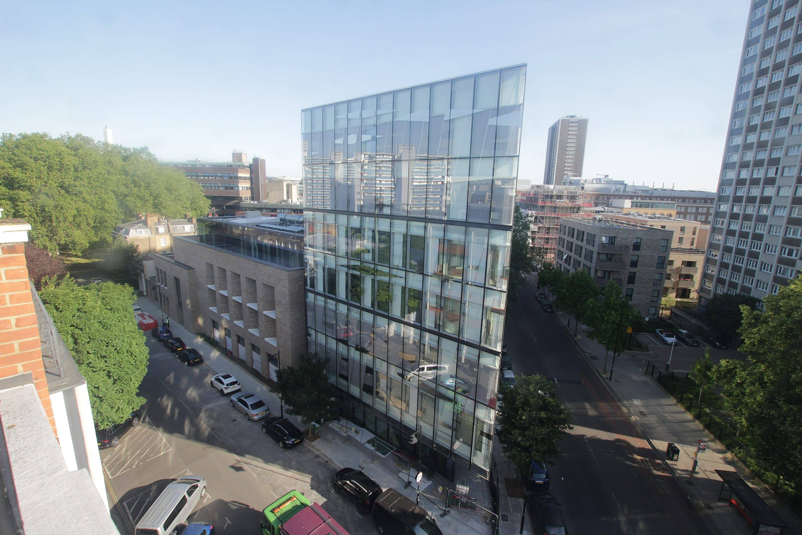 New City Law School building revealed through our time-lapse