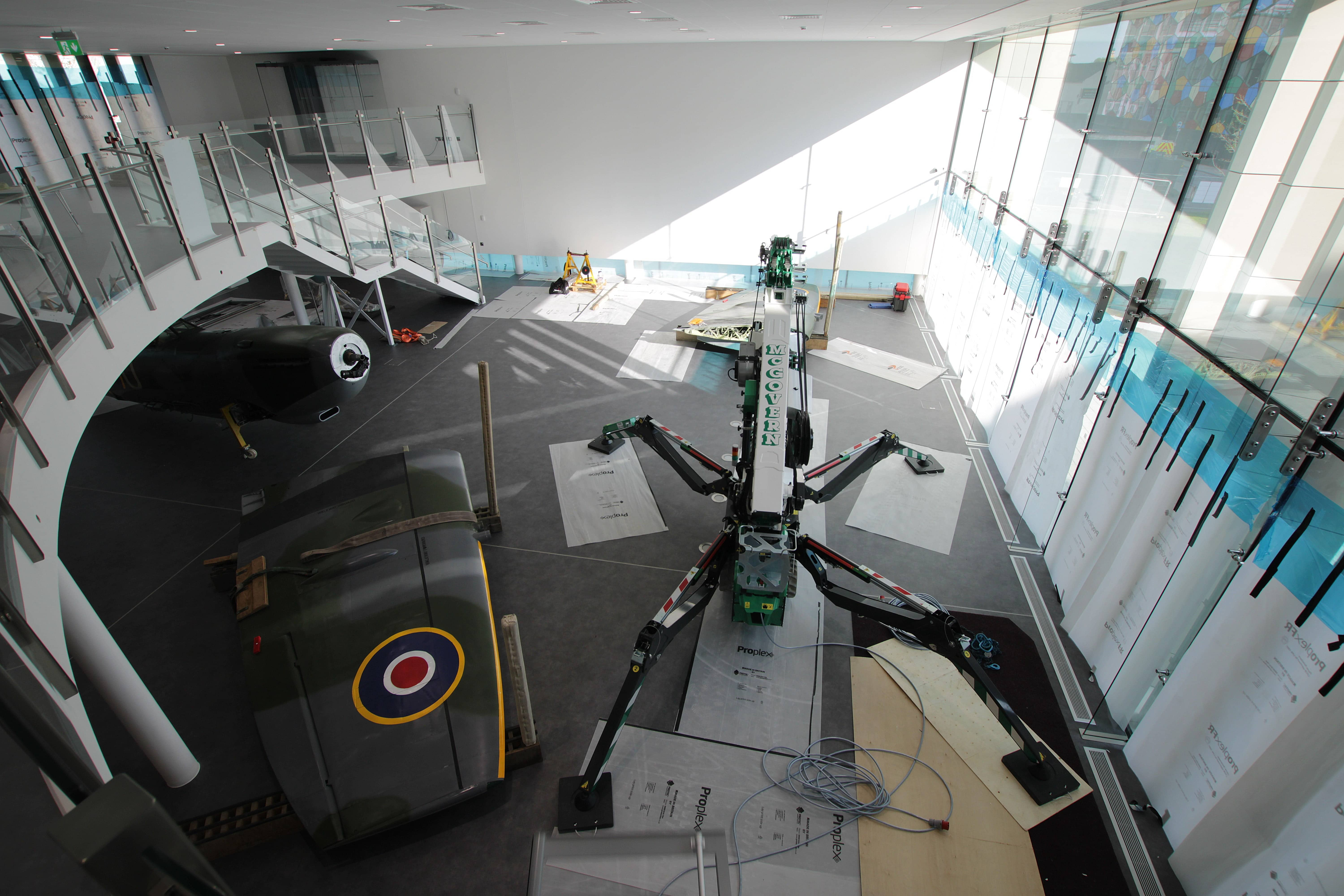 Spitfire RW388 reconstruction revealed in time-lapse video